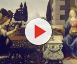 A pintura ''A Anunciação'' de Leonardo Da Vinci (Foto: Reprodução/Pixabay)