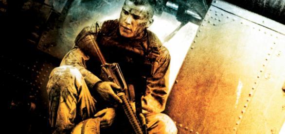 Black Hawk Down, cartel de la película.