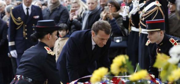 """Premier 11 Novembre pour Emmanuel Macron : """"La meilleure réponse ... - sudouest.fr"""