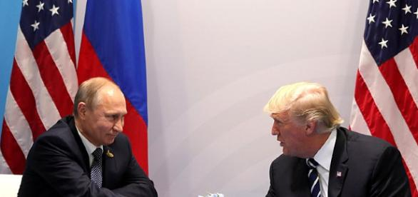 Trump and Putin - Image credit kremlin ru