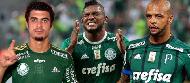 Confira o salário mensal de cada jogador do Palmeiras