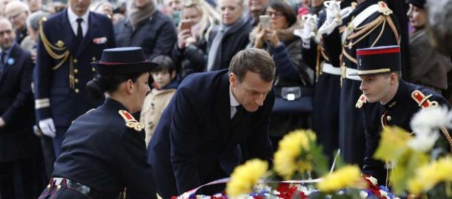 Le 11 novembre dans l'œil du président Macron