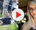 Reconstituição crime do caso Kelly Cadamuro em Frutal-MG