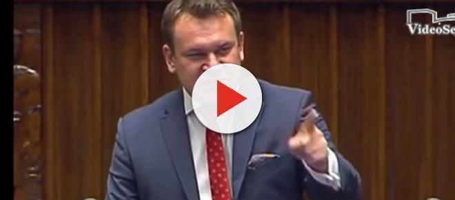 Dominik Tarczyński wdeptał w ziemię opozycję totalną: 'Jest wycie? ...' [WIDEO]