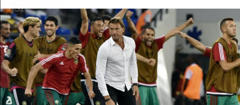 Herv renard qualifie le maroc pour sa premi re coupe du monde depuis 20 ans - Maroc qualification coupe du monde ...