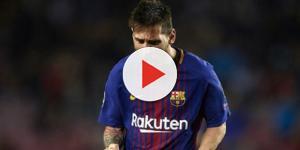 Leo Messi pensa em craque da Premier League