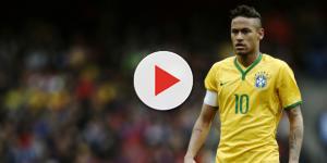 Neymar está agora concentrado com a seleção brasileira