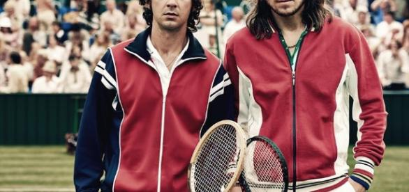Borg-McEnroe, due rivali allo specchio