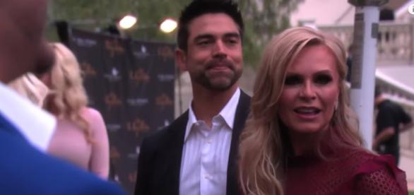Tamra and Eddie Judge, a happy couple - [Image via YouTube/Bravotv]