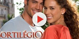Alessandro e Maria José, personagens da novela ''Sortilégio''