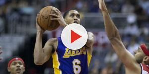 Los Angeles guard Jordan Clarkson on his way out? - (Image Credit: Keith Allison/Wikimedia Commons)