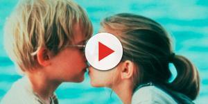 Macaulay Culkin e Anna Chlumsky em ''Meu Primeiro Amor''