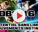 DBS 116 : Potentiel sans limite (Kafla) vs Mouvements instinctifs (Gokû Ultra Instinct / Migatte no Gokui)