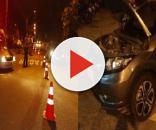 Suspeitos tentam roubar um carro, mas foram surpreendidos