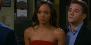 Days of our Lives Lani and JJ. (Image via YouTube screengrab/NBC)