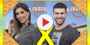 Flávia e Marcelo disputam a preferência do público em ''A Fazenda - Nova Chance''