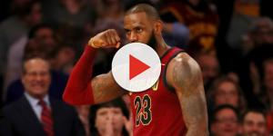 LeBron James compliments Lonzo - (Image: YouTube/Cavs)