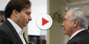 Rodrigo Maia decidiu 'enfrentar' o presidente Michel Temer