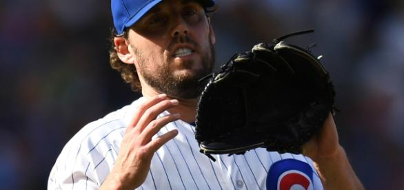 John Lackey might be a target of the Chicago Cubs [Image via Cubs.com/YouTube]
