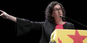 Marta Rovira, diputada de ERC.