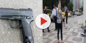 Ladrão usa arma falsa e acaba sendo baleado