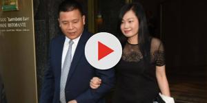 Milan, il nuovo proprietario Yonghong Li e la moglie Huang - corriere.it