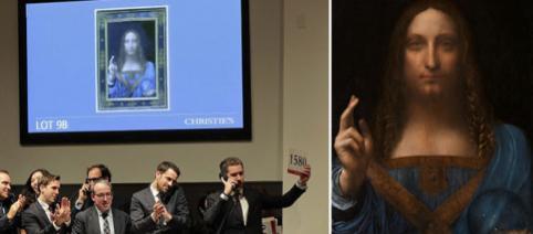 Record la casa de licitație Christie din New York. Un tablou al lui Da Vinci s-a vândut cu aproape jumătate de miliard $ - Foto: AP-Wikipedia