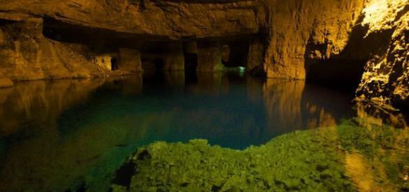 Underwater abandoned mine - Image credit- Vimeo