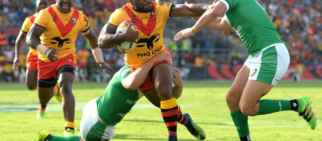 PNG's 'Tank on the Flank': Garry Lo