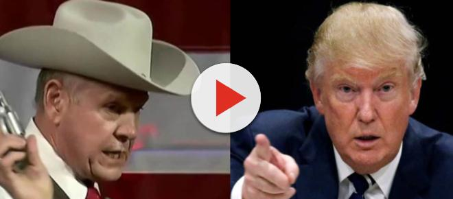 Trump supports Roy Moore staying in Senate race, gets destroyed on Twitter