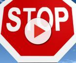 Il cartello stradale indicante lo stop