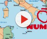 Il ciclone Numa si trova sul Salento.