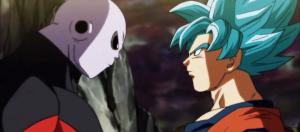 Jiren vs. Goku on 'Dragon Ball Super' (Image via YouTube/Nabeel Salim)