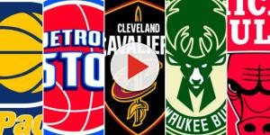 Central Division teams are looking to make some moves early in the season – [image credit: NBA logos/free-image]