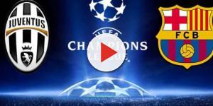 Juventus Barcellona, sfida di Champions League