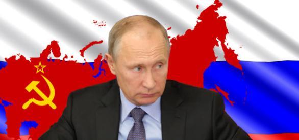 """Pe măsură ce tensiunile în lume cresc, Vladimir Putin plănuiește să """"reconstruiască Uniunea Sovietică"""" - Foto: colaj Creative Commons"""