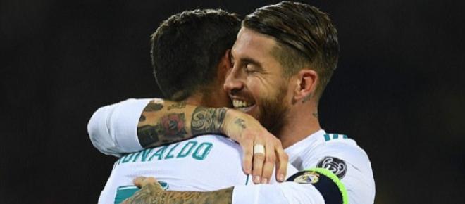 Cristiano Ronaldo e Sergio Ramos de costas voltadas? Perceba a tensão