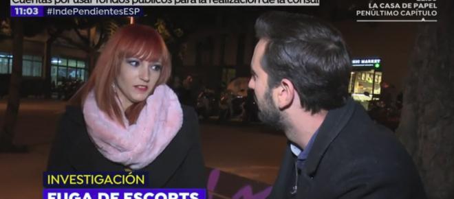 Que el número de prostitutas baja en Cataluña no ayuda a los unionistas