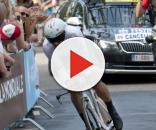 Fabian Cancellara impegnato in una cronometro