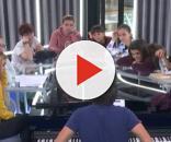 Manu Guix componiendo la canción junto con los concursantes de OT 2017