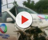 Ninguém ficou ferido no acidente