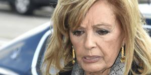 María Teresa Campos, en un mal momento.