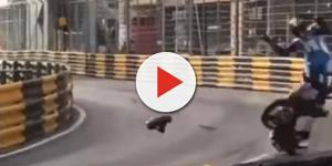 Piloto morreu no GP Moto Macau. (Foto internet)