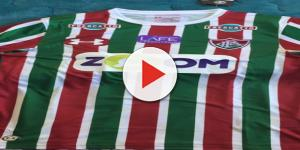 Zoom, nova patrocinadora master do Fluminense (Foto: Reprodução/Twitter)