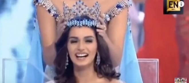 Medicine student from India crowned Miss World 2017