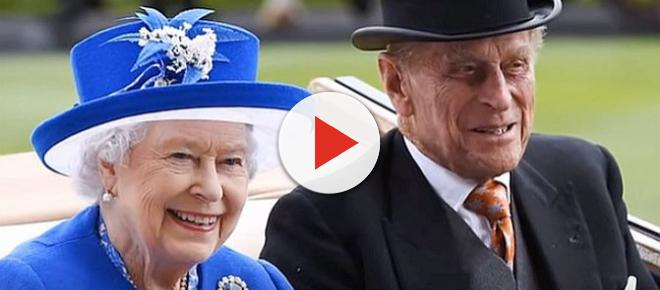Queen Elizabeth and Prince Philip celebrating 70th wedding anniversary