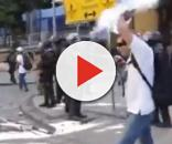 Jornalista e fotógrafo do Globo atingido por bala de borracha em manifestação