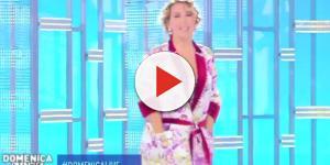 Barbara D'Urso furiosa a Domenica Live