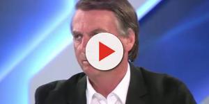 Bolsonaro durante entrevista no programa Canal Livre