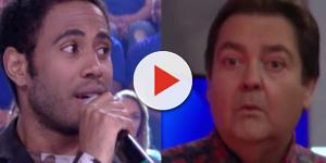Ícaro Silva comenta vídeo antigo no Faustão